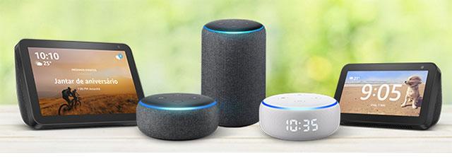 dispositivos Echo Alexa